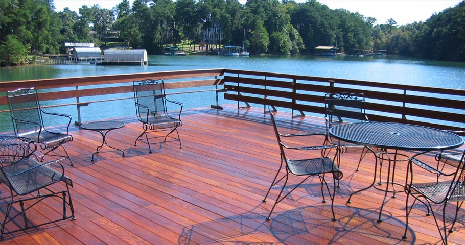 Brazilian Hardwood Deck - Project 3