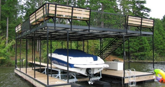 Boat Dock with Upper Deck - Project 4