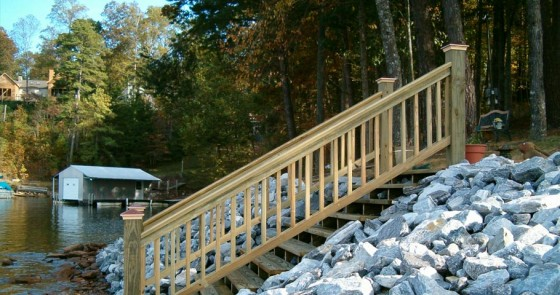 Shoreline Stair - Project 2