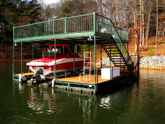 Single Slip Boat Docks Boat Dock Works