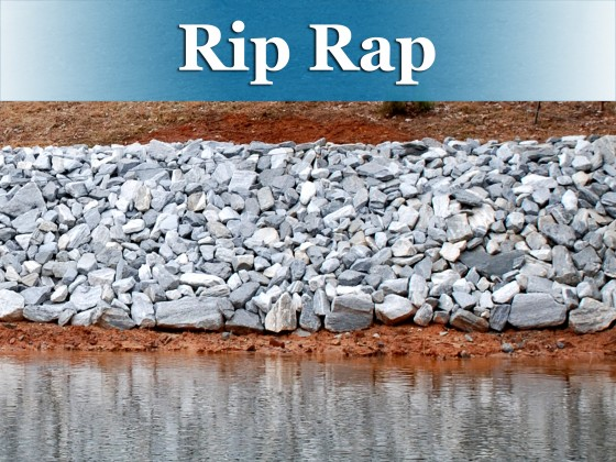 Rip rap button