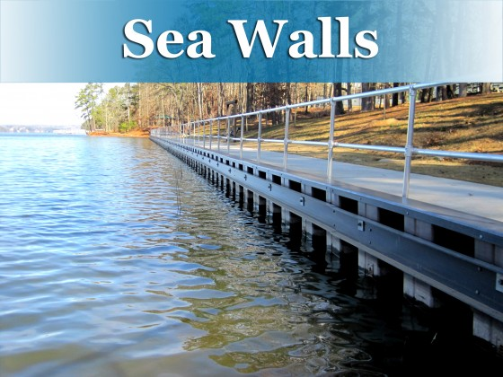 sea wall button
