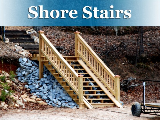 shore stairs button